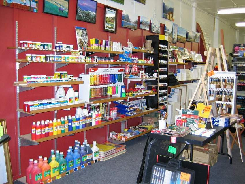 Arts Supply Shops
