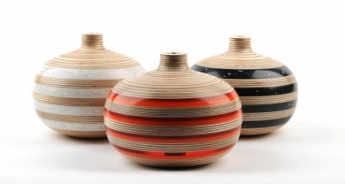 Recycled Vessels and Vases