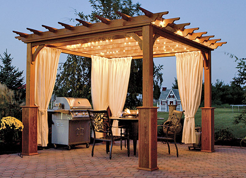 Custom Designed Pergolas